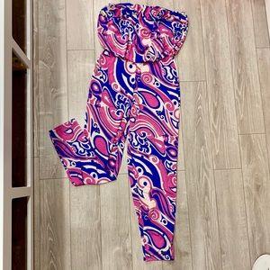 Pants - Sz. L jumpsuit new disco style